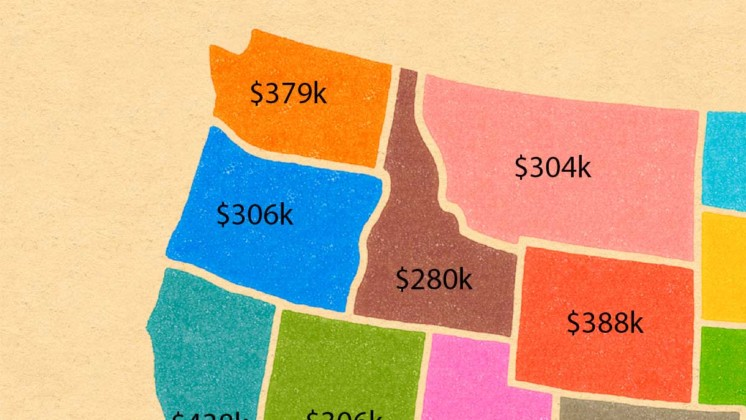 How much you'd have to make to be in the top 1% in each state